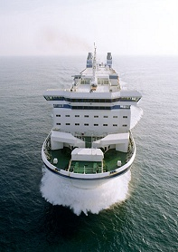 Finnjet in the English Channel. Photo: SeaContainers